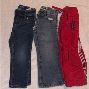 Boys 3t jeans and sweats